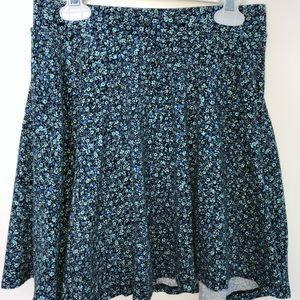 Multicolored Blue Skirt Size Medium from SO